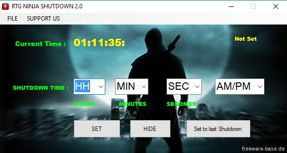 Vorschau RTG Ninja Shutdown - Bild 3