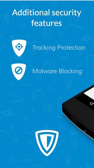 Vorschau ZenMate Security und Privacy VPN für Android - Bild 3