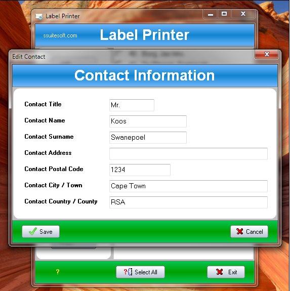 Vorschau SSuite Label Printer - Bild 3