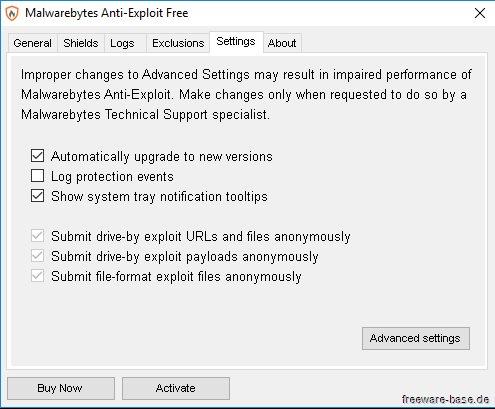 Vorschau Malwarebytes Anti-Exploit - Bild 3
