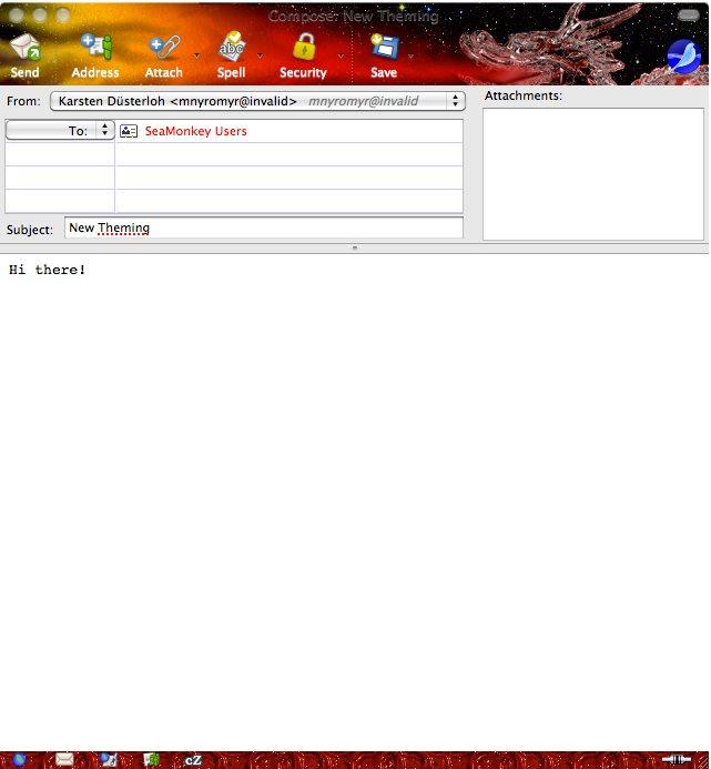 Vorschau SeaMonkey für Mac - Bild 3