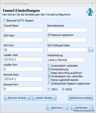 Vorschau SSHTunnelClient - Bild 3