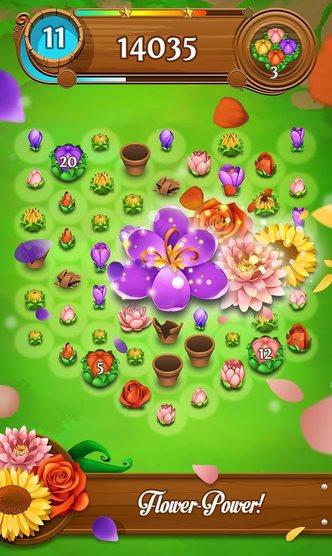 Vorschau Blossom Blast Saga für Android - Bild 3