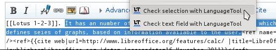 Vorschau LanguageToolFx - Stil- und Grammatikprüfung für Firefox - Bild 3