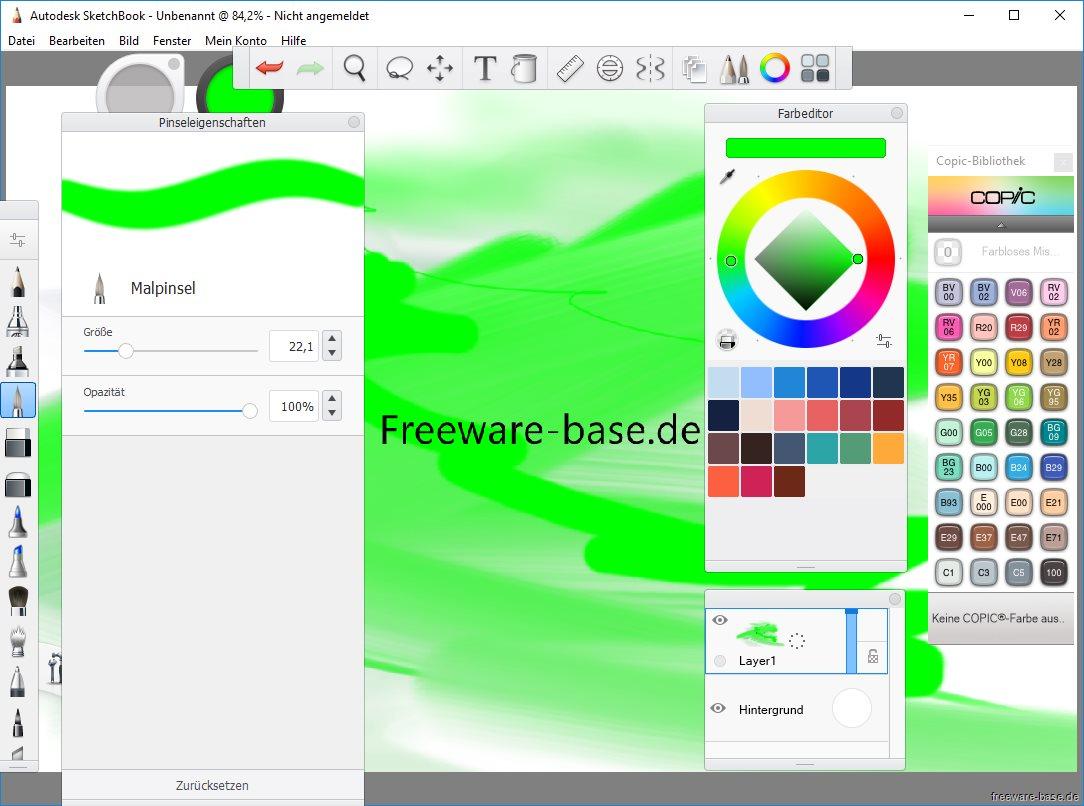 Vorschau Autodesk SketchBook - Bild 3