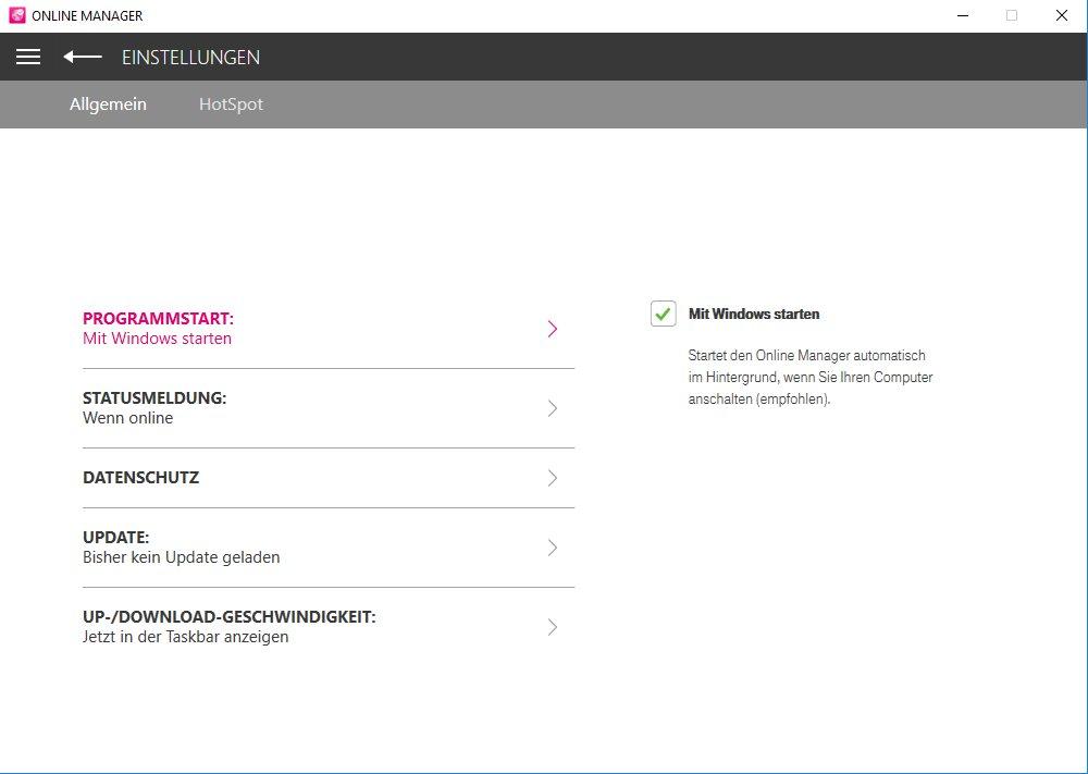 Vorschau Telekom Online Manager - Bild 3