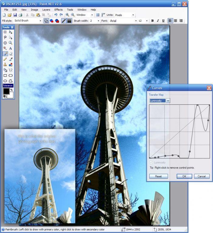 Vorschau PaintDotNet Paint.NET - Bild 4