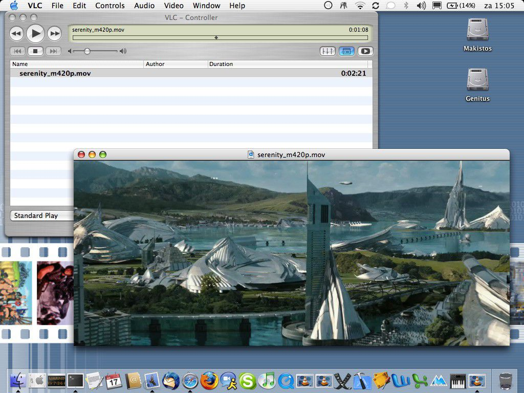 Vorschau VLC VideoLAN for Mac OS X - Bild 4