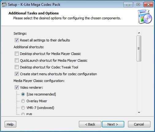 Vorschau K-Lite Mega Codec Pack - Bild 4
