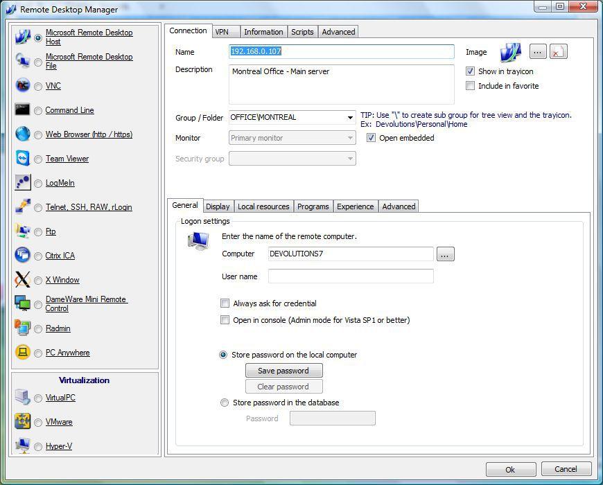 Vorschau Remote Desktop Manager - Bild 4