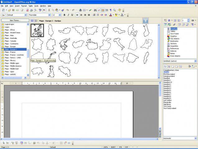 Vorschau OxygenOffice - Bild 4