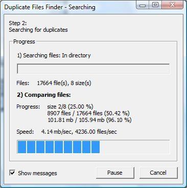 Vorschau Duplicate Files Finder - Bild 4