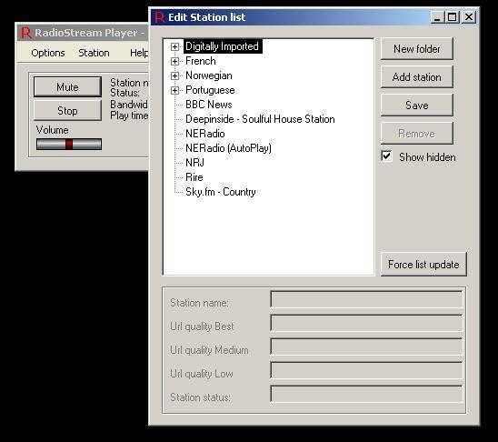 Vorschau Radio Stream Player - Bild 4