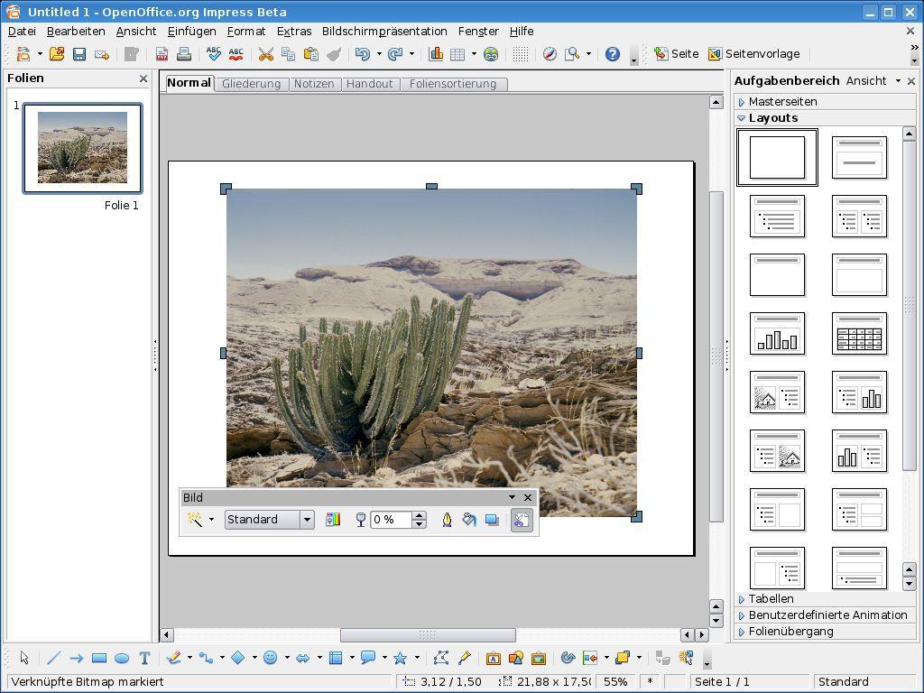 Vorschau Apache OpenOffice - Bild 4