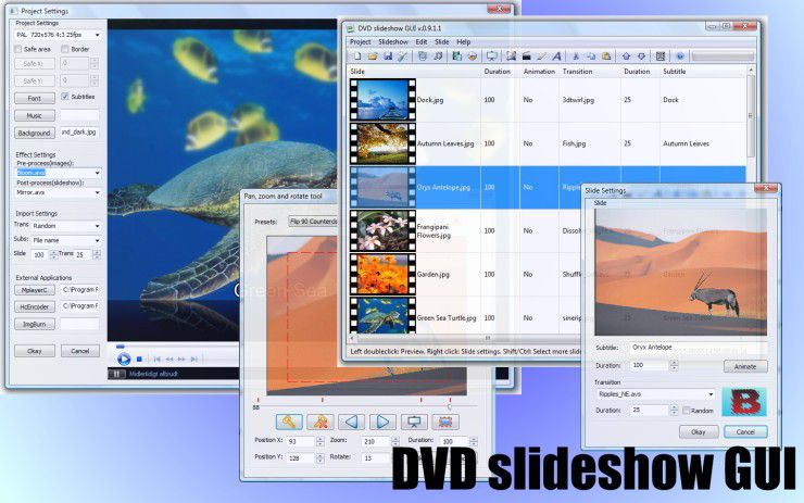 Vorschau DVD Slideshow GUI - Bild 4