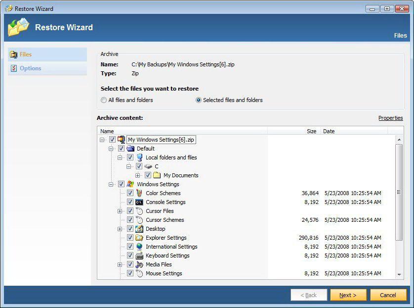 Vorschau KLS Mail Backup - Bild 4