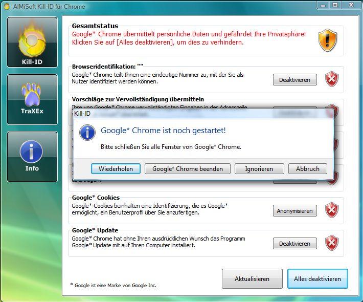 Vorschau Kill-ID fuer Chrome - Bild 4