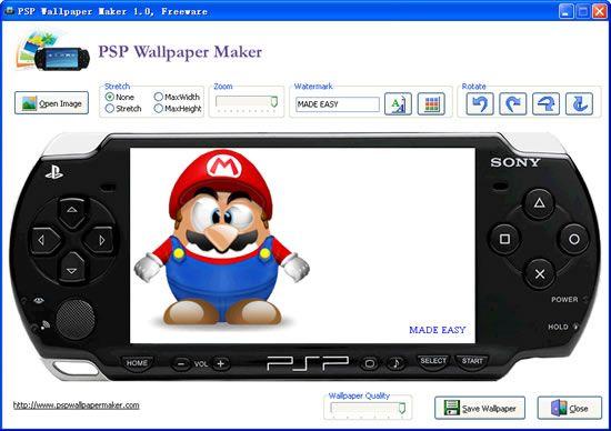 Vorschau PSP Wallpaper Maker - Bild 4