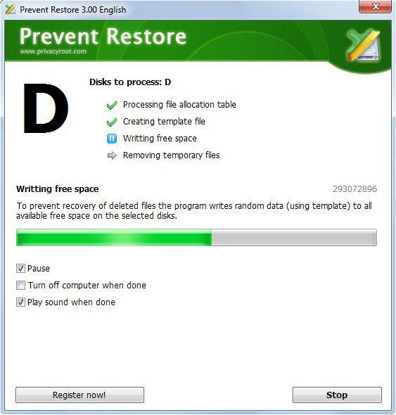 Vorschau Prevent Restore - Bild 4
