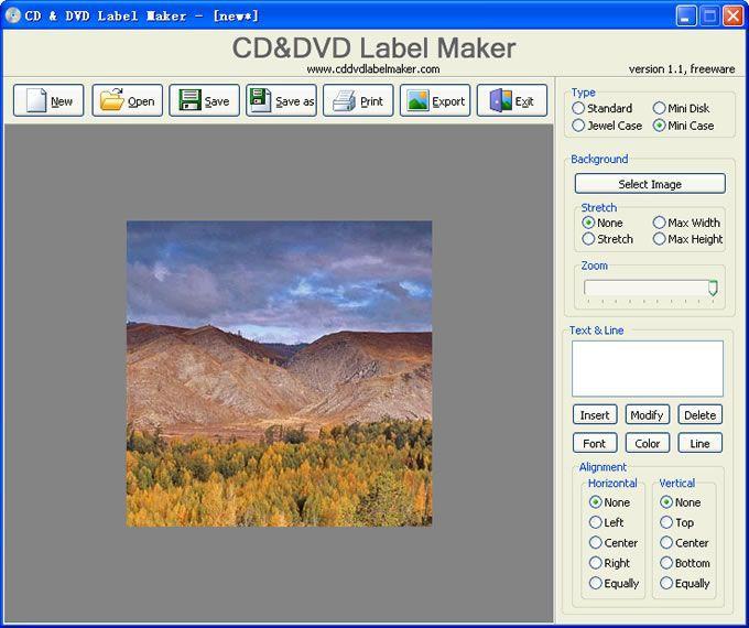 Vorschau CD and DVD Label Maker - Bild 4
