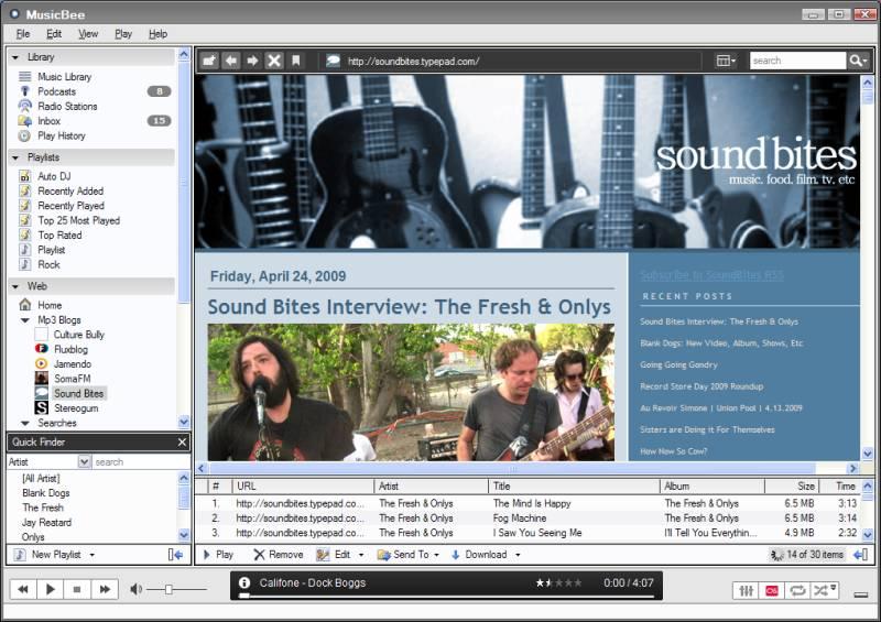 Vorschau MusicBee - Bild 4
