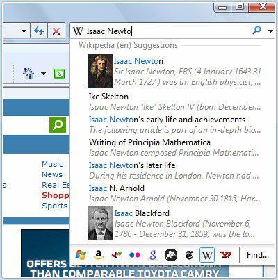 Vorschau Microsoft Internet Explorer - Bild 4