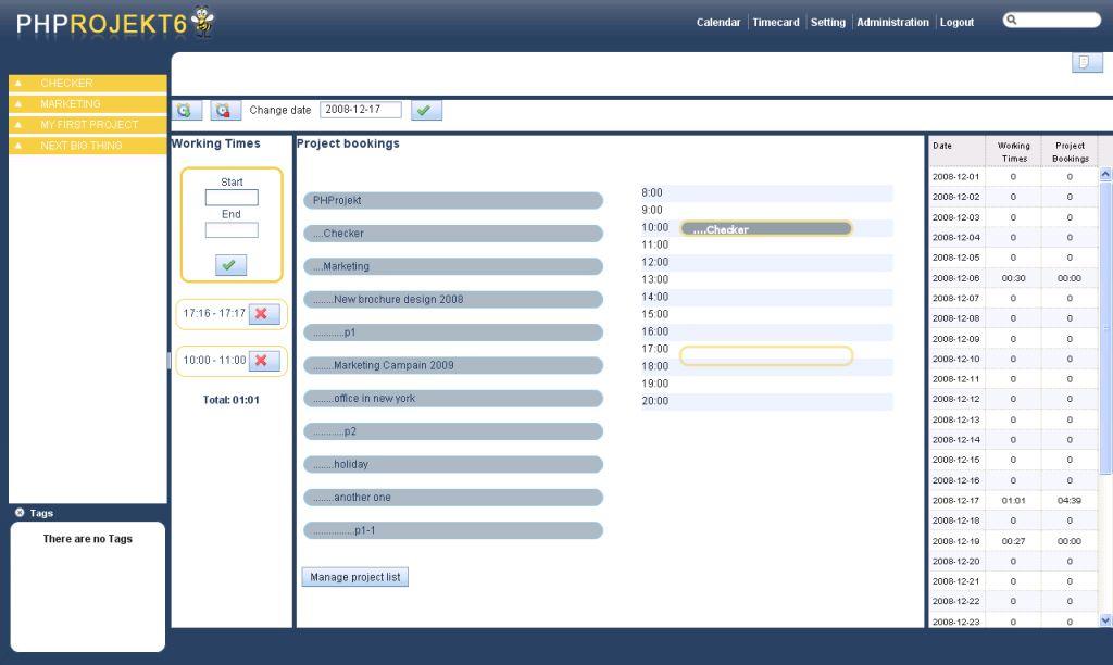 Vorschau PHProjekt - Bild 4