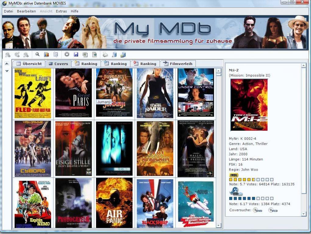 Vorschau MyMDb - Bild 4