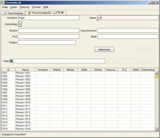 Vorschau TimeFinder - Stundenplan Software - Bild 4