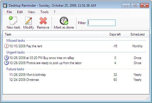 Vorschau Desktop-Reminder - Bild 4