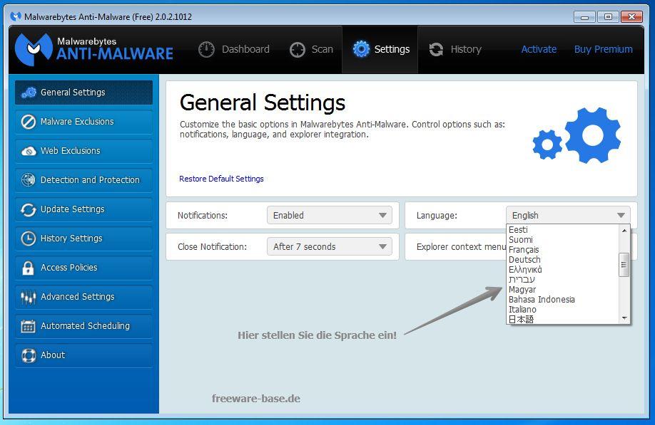 Vorschau Malwarebytes Anti-Malware - Bild 4
