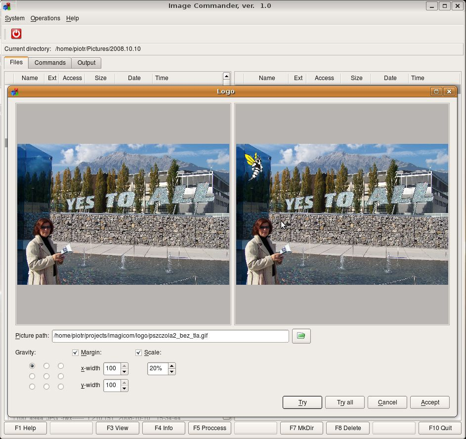 Vorschau Image Commander for Linux - Bild 4