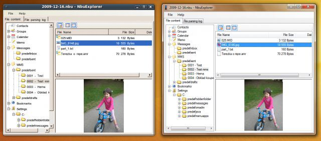 Vorschau Nokia NbuExplorer - Bild 4