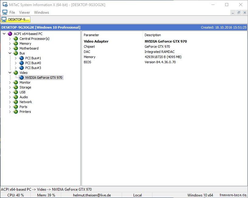 Vorschau MiTeC System Information X - Bild 4