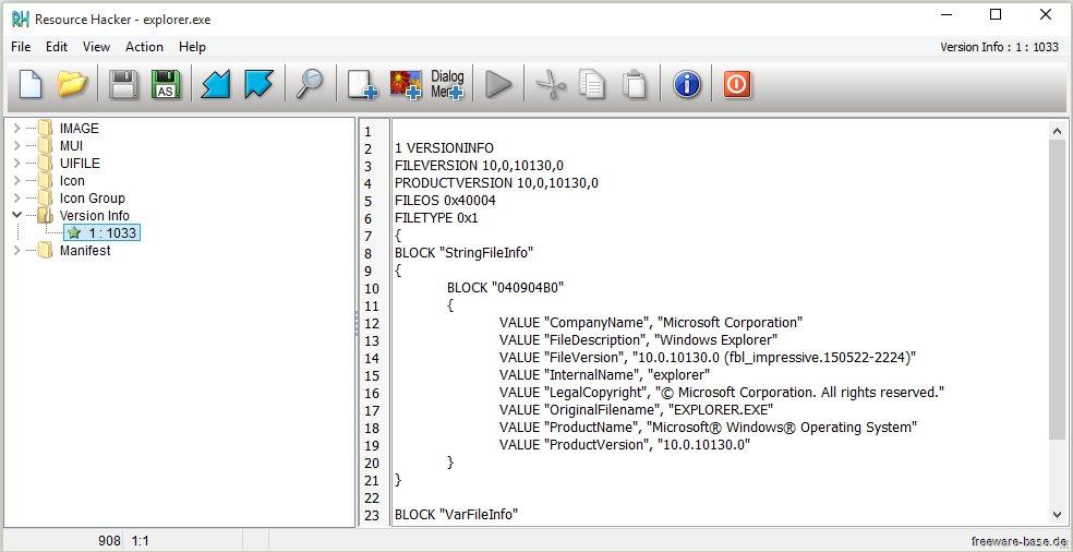 Vorschau Resource Hacker - Bild 4
