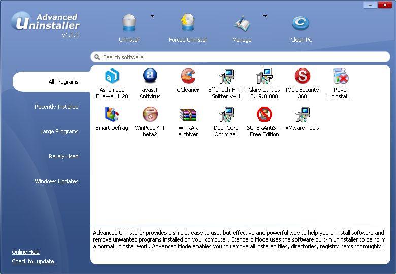 Vorschau IObit Uninstaller und Portable - Bild 4
