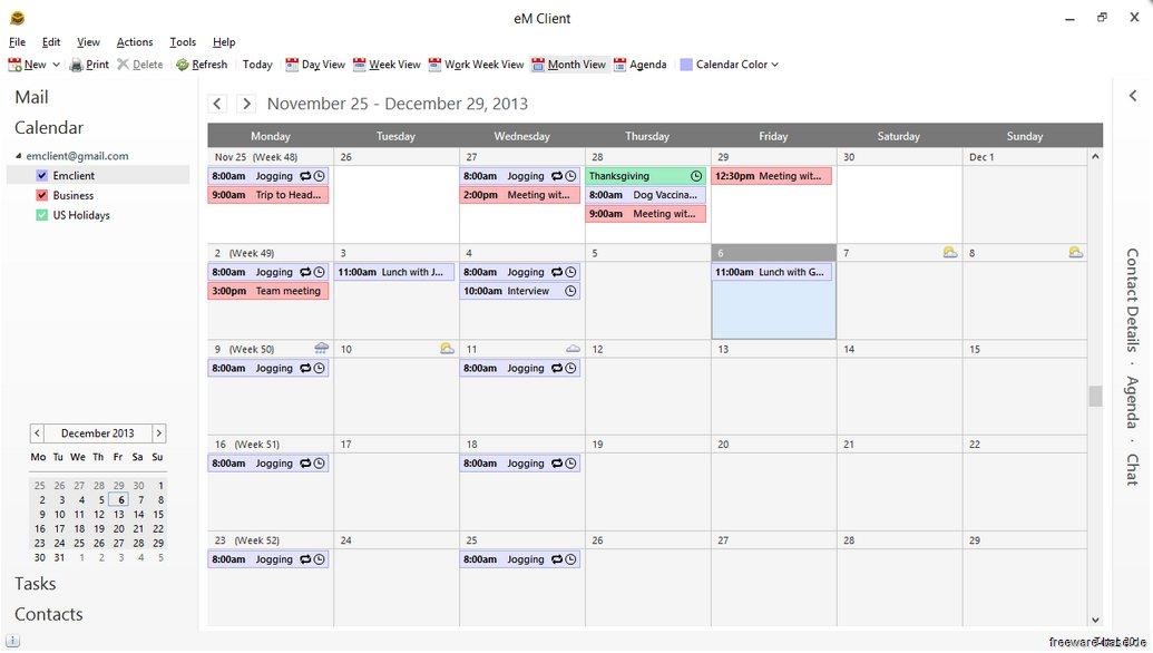 Vorschau eM Client and Calendar - Bild 4