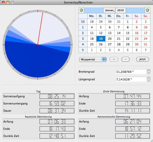 Vorschau SunCalculator - Bild 4