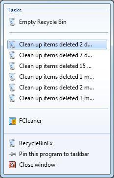 Vorschau RecycleBinEx - Bild 4