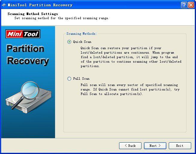 Vorschau MiniTool Partition Recovery - Bild 4