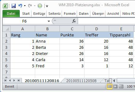 Vorschau SmartTools WM-Tipp 2010 für Excel - Bild 4