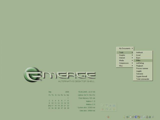 Vorschau Emerge Desktop - Bild 4