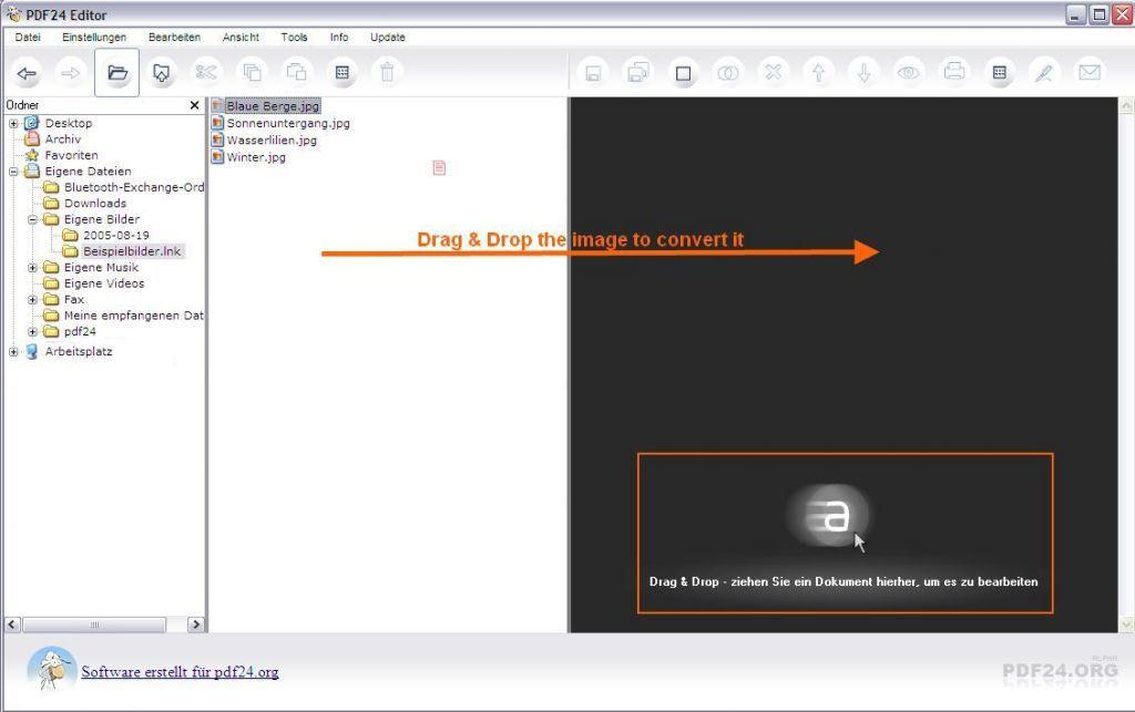 Vorschau PDF24-creator - Bild 4
