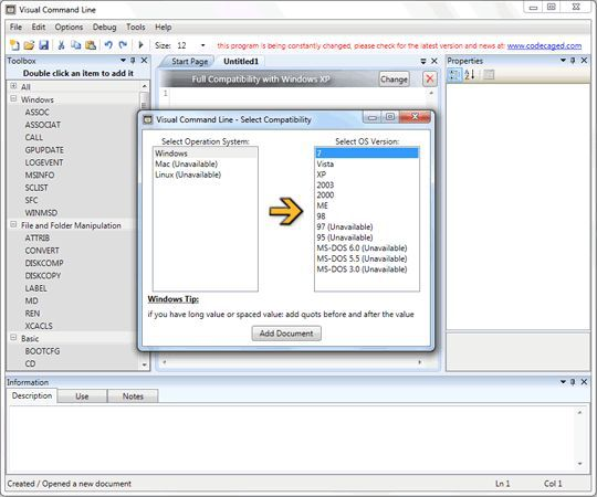 Vorschau Visual Command Line and Portable - Bild 4
