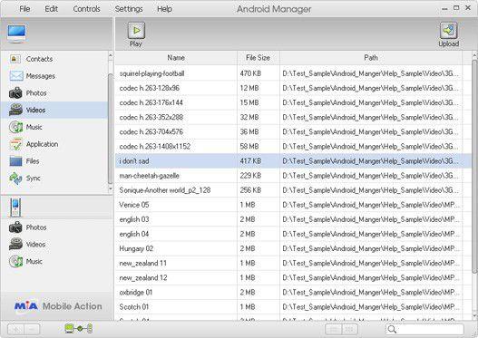 Vorschau Android Manager WiFi - Bild 4