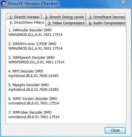 Vorschau DirectX Version Checker - Bild 4