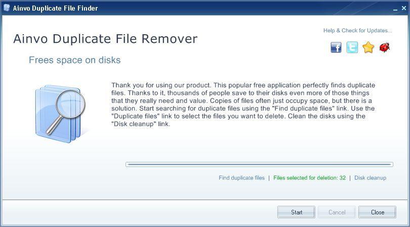 Vorschau Ainvo Duplicate File Finder - Bild 4