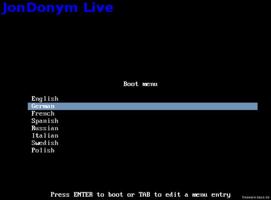 Vorschau JonDo Live-CD - Bild 4