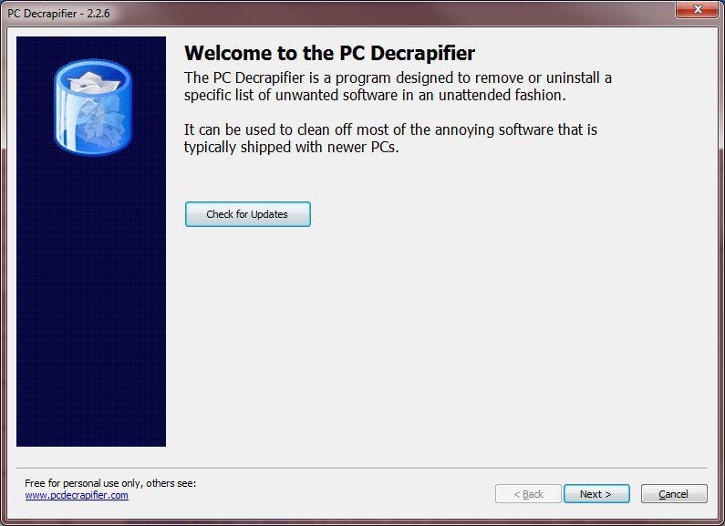 Vorschau PC Decrapifier - Bild 4