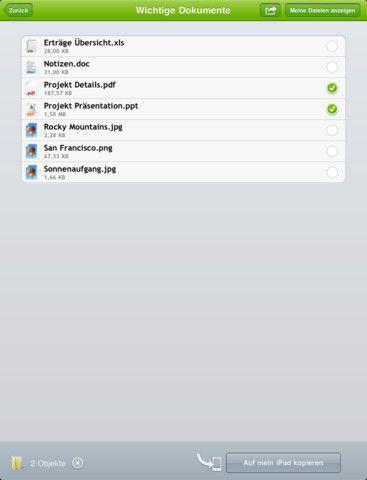 Vorschau TeamViewer HD iPad-App - Bild 4